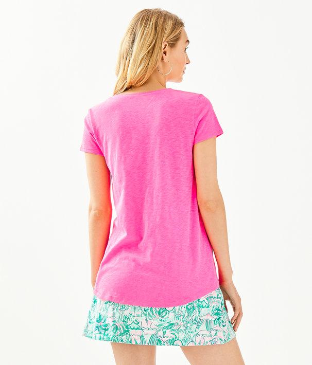 Etta Top, Pink Tropics, large