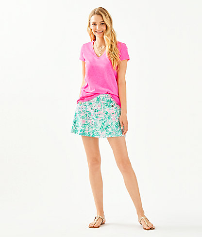 Etta Top, Pink Tropics, large 2