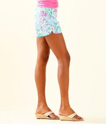 "5"" Ocean View Short, Bali Blue Sway This Way Swim, large"