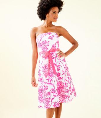 Sienna Dress, Resort White Caliente, large 0