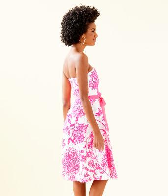 Sienna Dress, Resort White Caliente, large 2