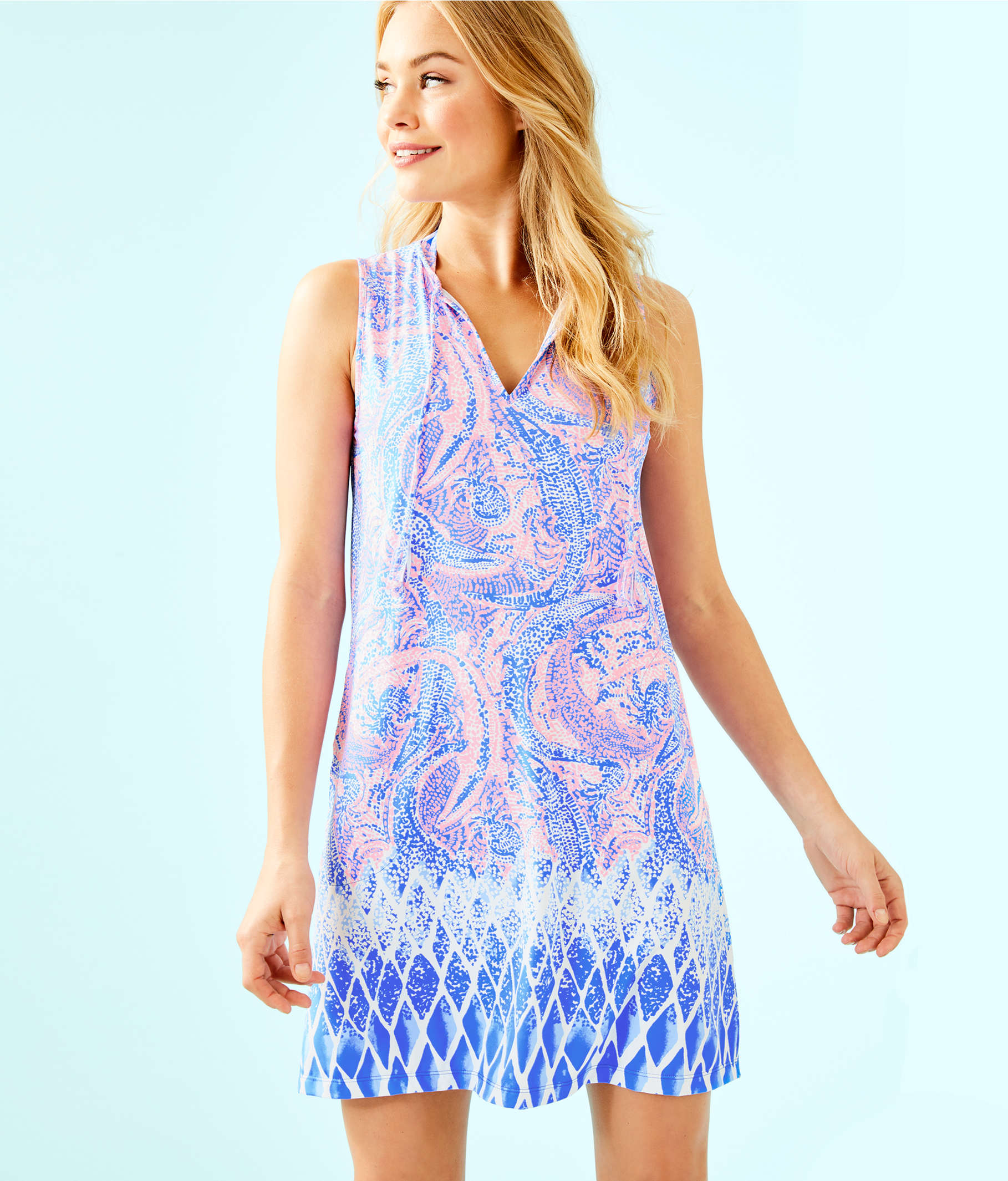 3d9d497766 ... Johana Cover-Up, Coastal Blue Maybe Gator Engineered Cover Up, large ...