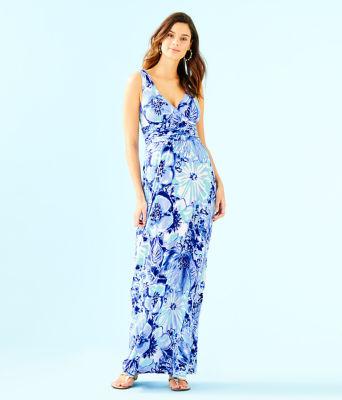 Sloane Dress, Coastal Blue Catch N Keep, large 0