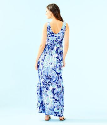 Sloane Dress, Coastal Blue Catch N Keep, large 1