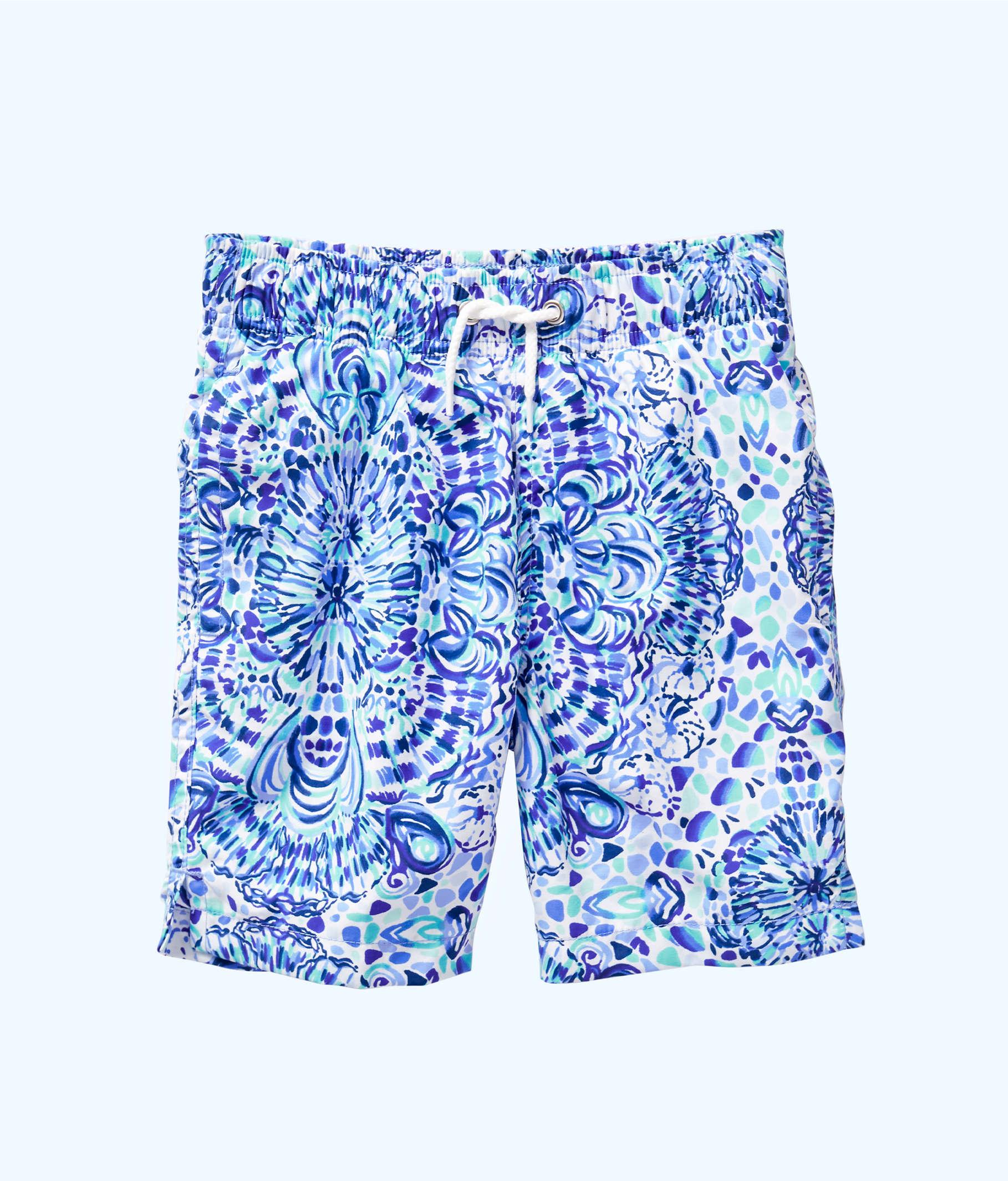 13c5c805f6d5 Boys Junior Capri Swim Trunks