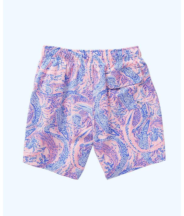 92f095019c Mens Capri Swim Trunks, Coastal Blue Maybe Gator, large ...