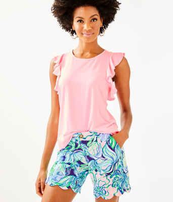 Lanette Top, Pink Tropics Tint, large