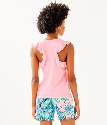 Lanette Top, Pink Tropics Tint, large 1