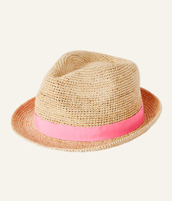 Poolside Raffia Hat, Natural, large 2