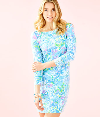 UPF 50+ Sophie Dress, Multi What A Lovely Place, large