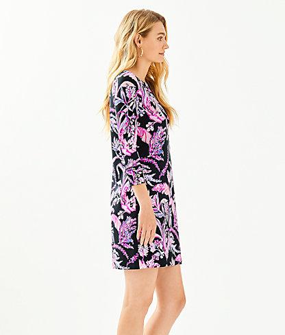 UPF 50+ Sophie Dress, Onyx Wild Within, large 2