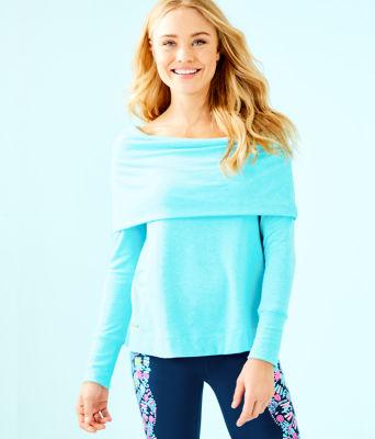 Belinda Off The Shoulder Pullover, , large