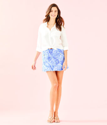 Madison Skort, Blue Peri Turtley Awesome, large