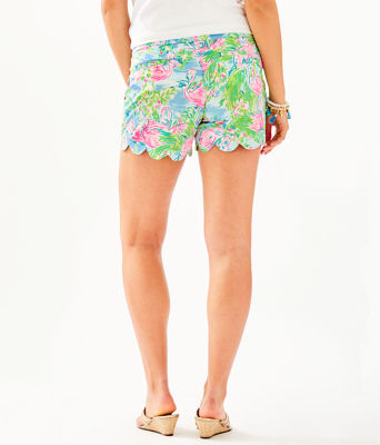 "5"" Buttercup Stretch Short, Multi Floridita, large"