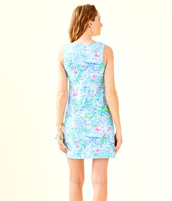Harper Shift Dress, Multi What A Lovely Place, large