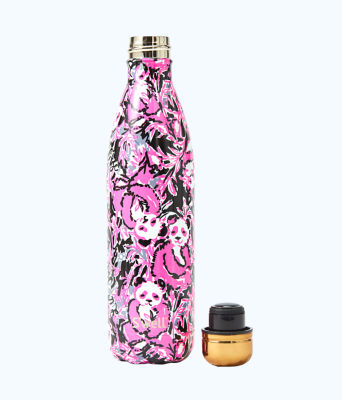 25 Oz Swell Bottle, Hibiscus Pink Swell Hangin With My Boo, large