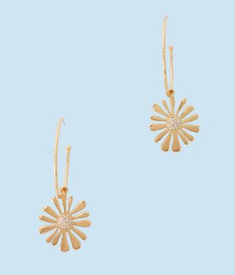 Floridita Earrings, Gold Metallic, large 0