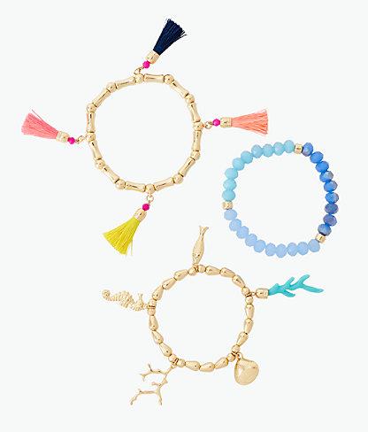 Island Calypso Bracelet Set, Multi, large 0
