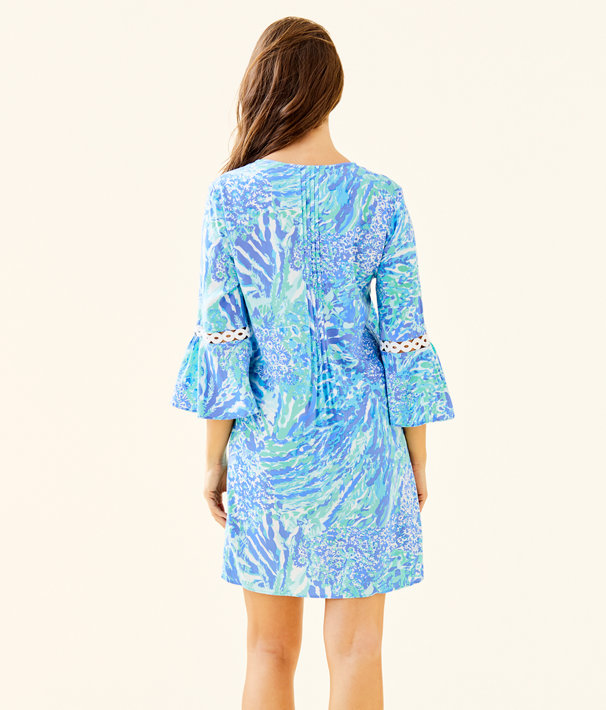 3e1fac49c8c ... Hollie Tunic Dress, Blue Haven Hey Hey Soleil, large ...