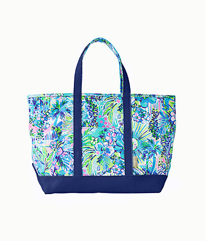 Mercato Tote, Multi Lillys House, large 0