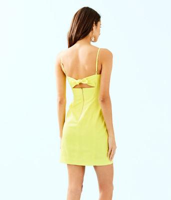Shelli Stretch Dress, Watch Hill Yellow, large 1