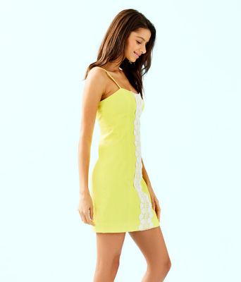 Shelli Stretch Dress, Watch Hill Yellow, large 2