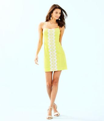 Shelli Stretch Dress, Watch Hill Yellow, large 3