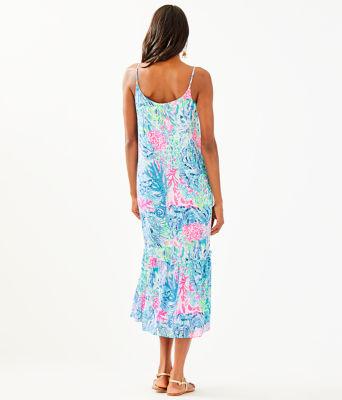 Winni Midi Dress, Multi Sink Or Swim, large 1