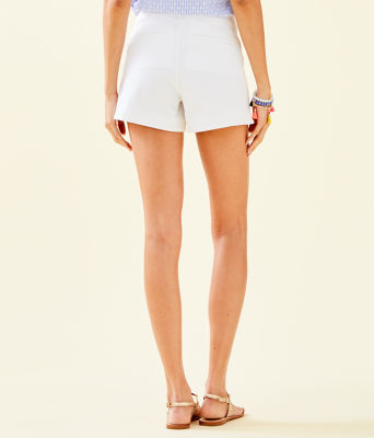 "4"" Adie Stretch Short, Resort White, large 1"
