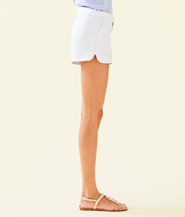 "4"" Adie Stretch Short, Resort White, large"