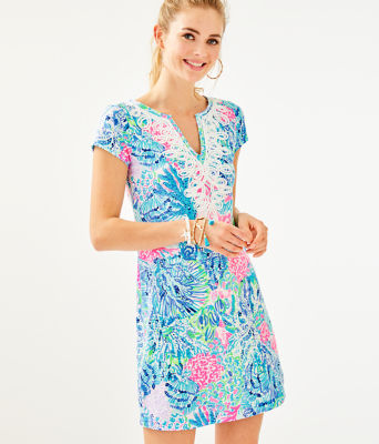 Brewster Dress, Multi Sink Or Swim, large