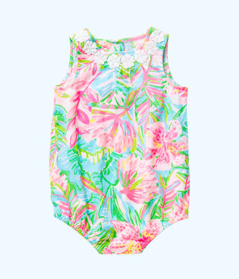 Baby May Bodysuit, Multi Pop Up Lilly Of The Jungle, large