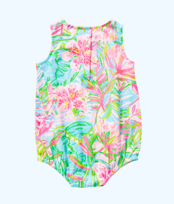 Baby May Bodysuit, Multi Pop Up Lilly Of The Jungle, large 1