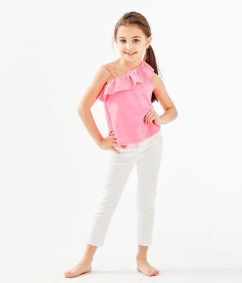 Girls Hailey Top, Havana Pink, large 0