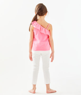 Girls Hailey Top, Havana Pink, large 1