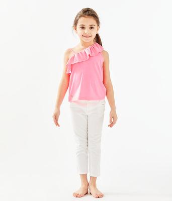 Girls Hailey Top, Havana Pink, large 2