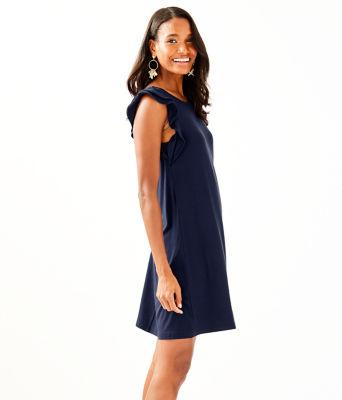 Dani Dress, True Navy, large 2