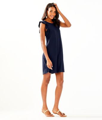 Dani Dress, True Navy, large 3
