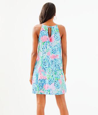Margot Swing Dress, Multi Sink Or Swim, large