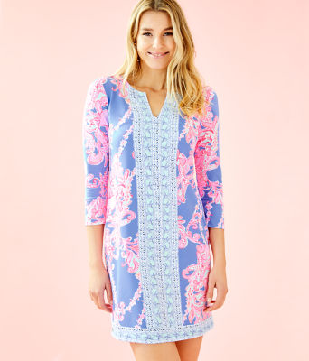 UPF 50+ ChillyLilly Nadine Dress, Blue Peri Go With The Flow Engineered Chilly Lilly, large 0