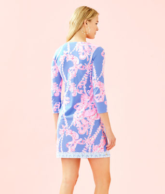 UPF 50+ ChillyLilly Nadine Dress, Blue Peri Go With The Flow Engineered Chilly Lilly, large 1