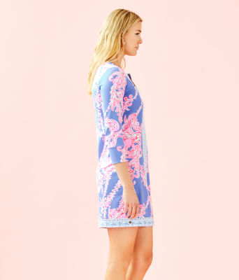 UPF 50+ ChillyLilly Nadine Dress, Blue Peri Go With The Flow Engineered Chilly Lilly, large 2