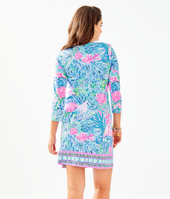 UPF 50+ ChillyLilly Nadine Dress, Multi Sink Or Swim Engineered Chilly Lilly, large 1
