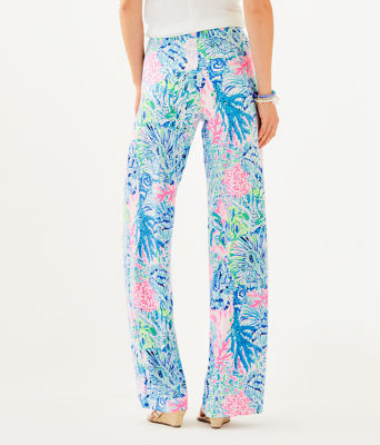 "32"" Lorena Breezy Palazzo Pant, Multi Sink Or Swim, large 1"