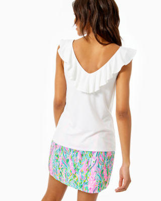 Alessa Top, Resort White, large 1