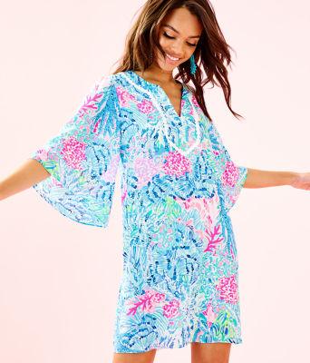 Delancey Dress, Multi Sink Or Swim, large 0