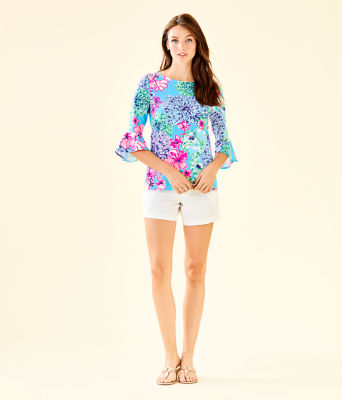 Fontaine Bell Sleeve Top, Multi Special Delivery, large 2