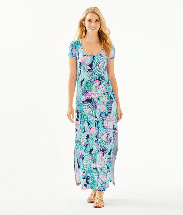Wynne Maxi Dress, Multi Lookin Sharp, large