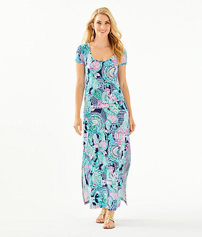 Wynne Maxi Dress, Multi Lookin Sharp, large 0