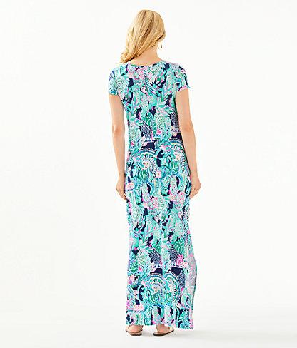 Wynne Maxi Dress, Multi Lookin Sharp, large 1